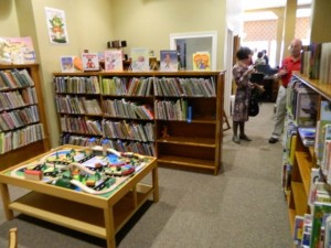A photo of The Children's Area at the Roanoke Public Library