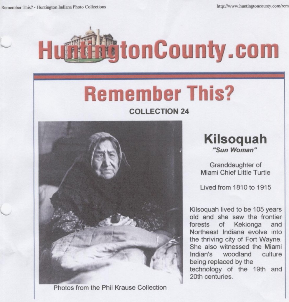 "Scanned picture of Kilsoquah article entitled ""Remember this?"