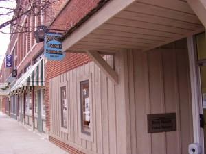 Roanoke Public Library outside