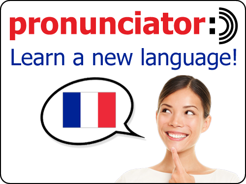 Learn a new language with Pronunciator!